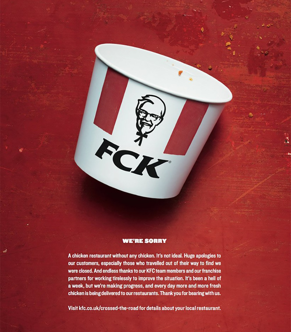 KFC marketing release